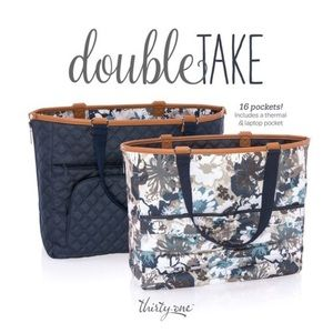 Double Take Tote in Navy